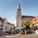 Khám phá thị trấn Nördlingen bao phủ toàn kim cương