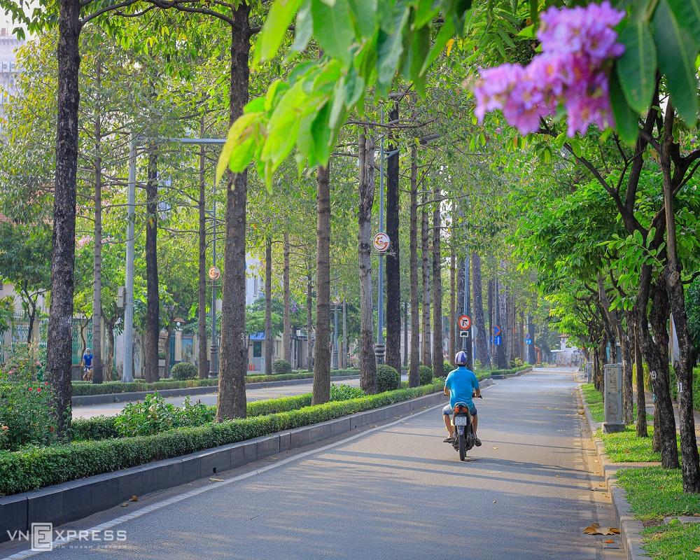 Có một Sài Gòn bình yên lạ kì trong mùa dịch Covid-19