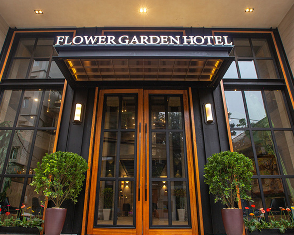 Combo khách sạn Flower Garden Hà Nội 3N2Đ