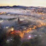Ngắm nhìn vẻ đẹp sương ảo của Đà Lạt từ trên cao